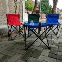 Kursi Lipat Sandaran Praktis Untuk Camping Atau Mancing