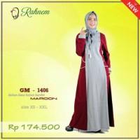 SALE | Gamis Terbaru Rahnem GM 1406/Gamis Kaos/Dress