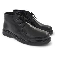 jual sepatu pantofel kulit pria sepatu boot formal pria sepatu satpam