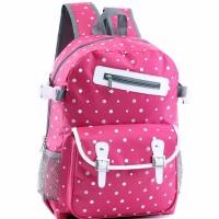 jual Tas Ransel Wanita Backpack Sekolah Anak dan Remaja Gratis Rainco