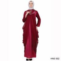 best seller Baju Gamis Modern Untuk Pesta Warna Merah