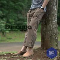 BAWAHAN Sirwal Bunayya Warna Lengkap, Celana Panjang Pria Muslim Bahan