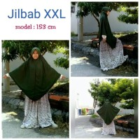JILBAB/HIJAB Jilbab Dewasa Instan Instant Serut Non Serut Bahan Kaos