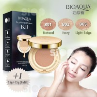 BIOAQUA BB GOLD CUSHION EXQUISITE & DELICATED & REFILL