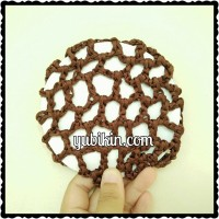 1 Piece Hairnet Diameter 10,5cm Coklat