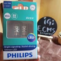 Lampu Philips Senja LED T10 Original 100% Mobil dan Motor
