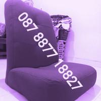 Lesehan kursi sofa Santai, nonton tv, Belajar, Minimalis, Malas ungu