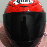 Helm Shoei Z7 Red Ant Marquez Original
