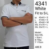 Baju korea pria kaos kerah polo shirt import branded dewasa 4341