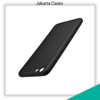 SLIMATTE HP OPPO A71 FULL BLACK CASE MATTE OPPO A71