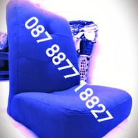 Lesehan kursi sofa Santai, nonton tv, Belajar, Minimalis, Malas Biru