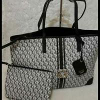 Jual Tas Travel Bag Logo Guess Original - Tas Branded Murah Cuci Gudang NWT Murah