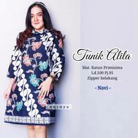 Baju Batik & Hijab. Danari Batik Solo. Tunik Batik Solo Alila Series