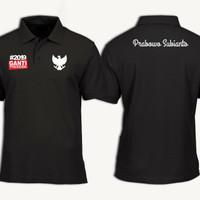 polo shirt/kaos kerah GANTI PRESIDEN PRABOWO SUBIANTO