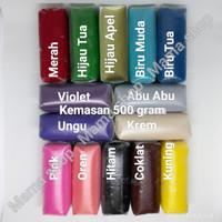 Fondant Merah / Fondant Hitam / Fondant 500 gr merk Donica Gula Dekor