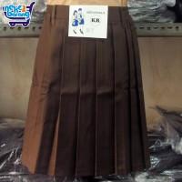 Rok Pendek Rempel SD Coklat - Seragam SD - Seragam Pramuka Sekolah