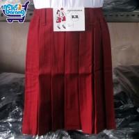 Rok Pendek Rempel SD Merah - Seragam Sekolah - Seragam SD