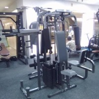 Alat fitness home gym 4 sisi multifungsi grey