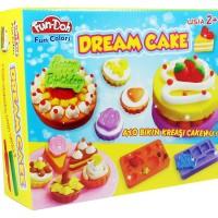 FUN DOH DREAM CAKE Lilin Mainan Edukasi + Cetakan SNI Murah