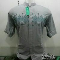 Baju Muslim Pria Baju Koko Pasar Tasik Tanah Abang Jakarta KWV 015 T51