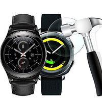 Tempered Glass Screen Protector Samsung Gear Sport and S2 Anti Gores