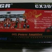 New KIT Power Amplifier CX300 Stereo OCL Power Amplifier 300 Watt