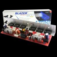 New KIT Power Amplifier Mono 600 Watt Blazer 600 Watt Sanken Asli
