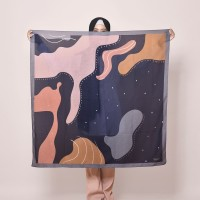 [EXCLUSIVE] GOGIRL! PRINTED SCARF; FLUID SERIES