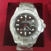JAM ROLEX YACHT MASTER SUPERLATIVE CHRONOMETER SUPER CLONE