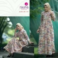 baju muslim wanita Gamis katun / Rauna Rk 031 / gamis dewasa / gamis