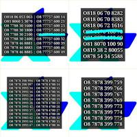 Jual Nomor Cantik XL Kartu Perdana XL Axiata 4G LTE Termurah Murah