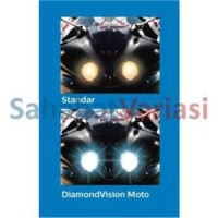 Paket Philips DiamondVision HS1 5000K dan Blue Vision White Light T1