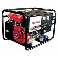 Elemax Genset SH 7000-DX RAVS/ATS6000 Watt, Built-in ATS System