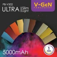 Jual V-Gen Power bank 5000mAh PB-V502 Murah