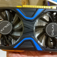 VGA CARD GALAX NVIDIA Geforce GTX 1050 2GB DDR5 EXOC Dual Fan