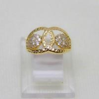 cincin emas kuning rosegold perhiasan mas 70% chanel gold original