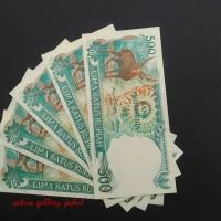 Rp 500 Rupiah 1988 UNC 'RUSA'