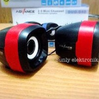 TERMURAH speaker multimedia advance duo 040 speaker mini compu Diskon