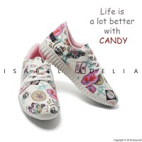 Harga isabel candy sneakers shoes white | antitipu.com