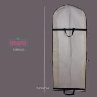 Harga tas pelindung gaun pesta dari debu l cover baju pengantin white | antitipu.com