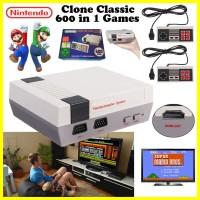 Jual Mainan Anak Nintendo NES Clone Classic Console HDMI 600 In 1 Game Unik Murah