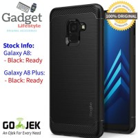 Case Samsung Galaxy A8 & A8 Plus 2018 - Original Ringke Rearth Onyx