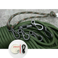 Buckle quickly mini spring keychain hanging key ring carabiner tali