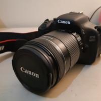 Kamera Canon EOS 600D KIT 18-135 Bekas Berkualitas