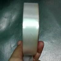 1 Roll Pita Ribbon Polos 2cm Putih