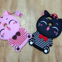 SOFT CASE BONEKA HP XIAOM 5X soft case gambar kucing hp xiaomi 5X