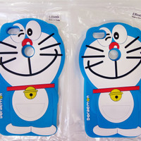 SOFT CASE BONEKA HP XIAOMI NOTE 5A - CASE BONEKA 4D DORAEMON MI 5 A