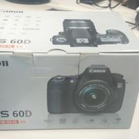 Canon EOS 60D kit lensa EF-S 18-55 IS