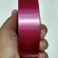 15 Meter Pita Ribbon Polos Pink Fuchia