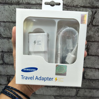 TRAVEL CHARGER SAMSUNG NOTE 4 NOTE 5 S6 FASTCHARGING ORIGINAL 100%